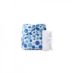 Bumberry  Pocket Diaper - Blue dots