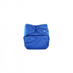 Bumbery  Cover Diaper (Dark Blue) + 1 wet Free Inserts